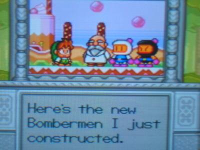 Bomberman cameo!
