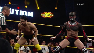 "It was great seeing Hideo Itami and ""the Demon"" Finn Balor in person"
