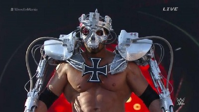 Triple H always had badass Wrestlemania entrances