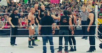 Time stood still for a moment. DX vs. nWo!