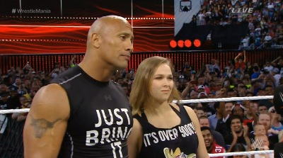 The Rock and Ronda electrified
