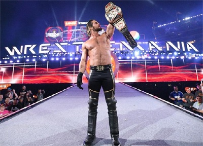 Seth Rollins ca$hed in his Money in the Bank to steal the Championship