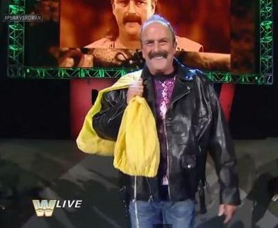 Seeing him on old school Raw 2014 gave me the chills
