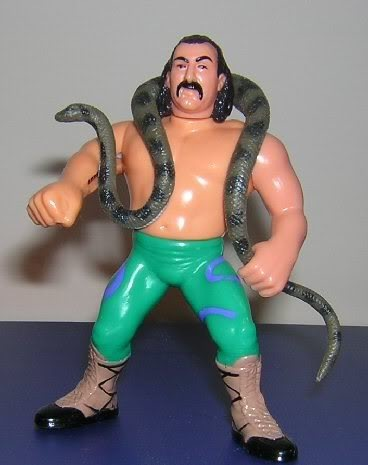 "My white whale, Jake ""The Snake"" Roberts"