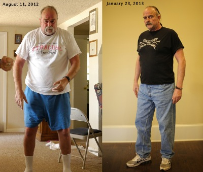 Amazing what eating right and DDPYoga did for Jake!
