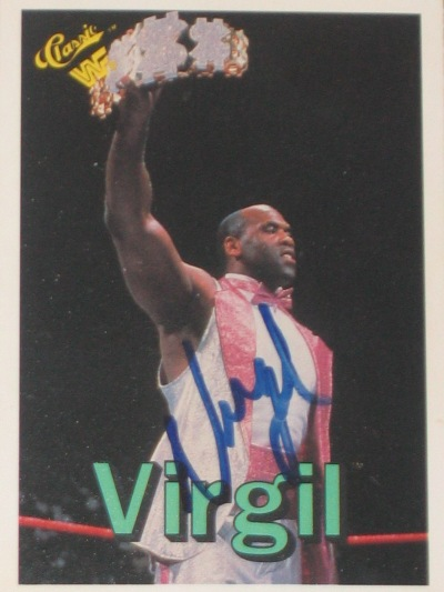 Virgil signed my card, and he didn't charge me $50!
