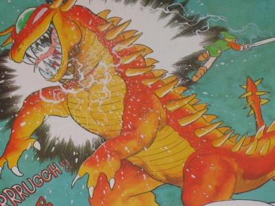 Looking a bit like the new Godzilla...