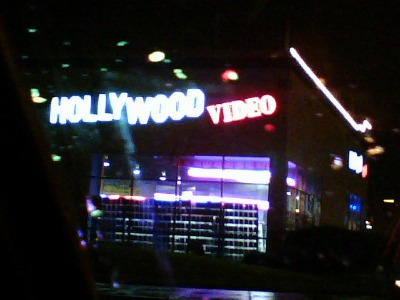 My childhood Hollywood Video, taken January 2006
