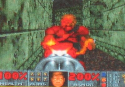 Games weren't 'cool' in the mid '90s, but Doom II sure was
