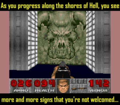 Little details like this made Doom one memorable affair