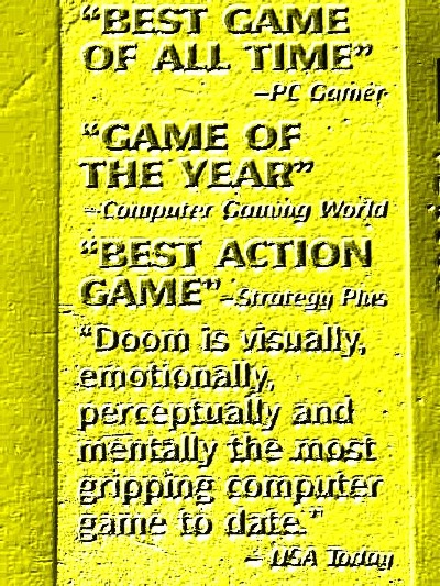 Doom has etched its mark in gaming lore. I love it to this day