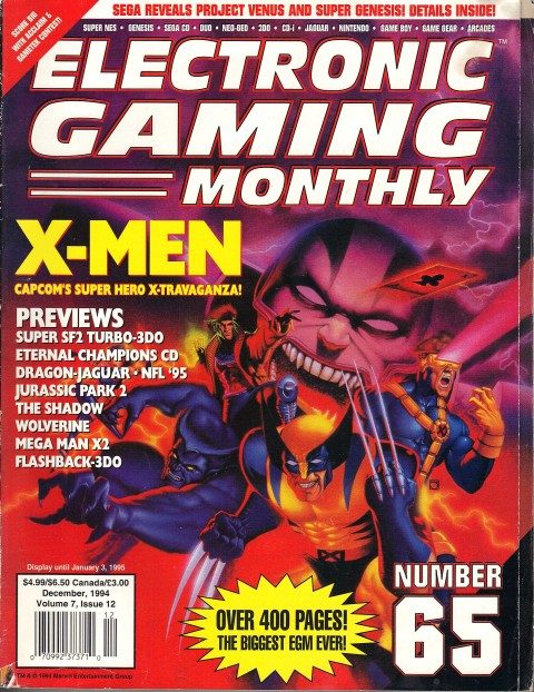 EGM's biggest issue ever, December 1994