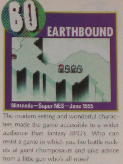 Nintendo Power ranked it 60th best game of all time