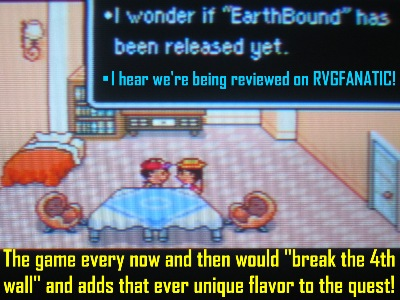 EarthBound was meta before meta became chic