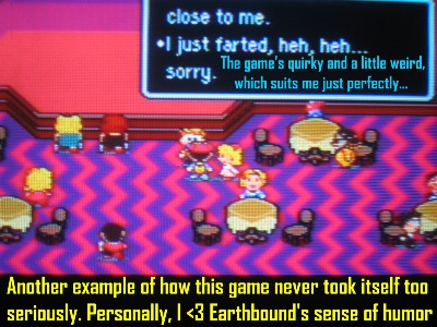 It's refreshing to play an RPG so bonkers