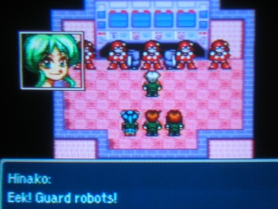 Sure, why not. Robots at Hourai High too