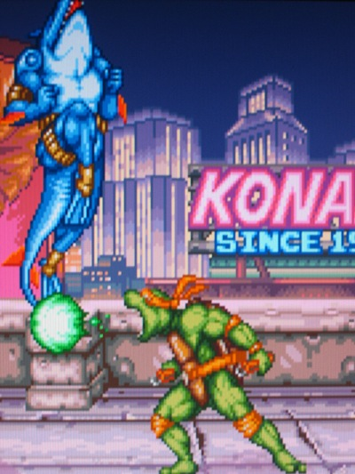 Konami serves up yet another SNES classic. LET'S KICK SHELL!