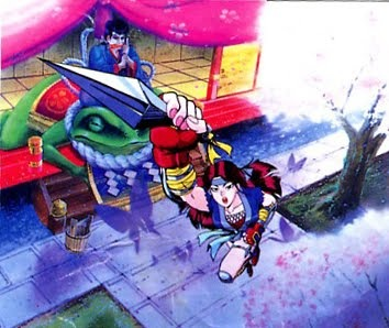 Did you know: she's based off Mitsu from 1993's TMNT III