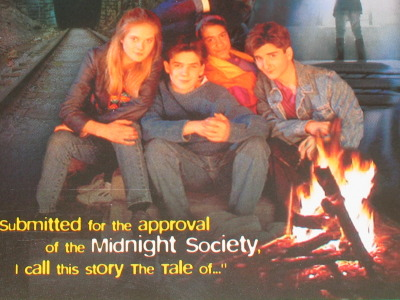 As a kid I always wanted to join the Midnight Society