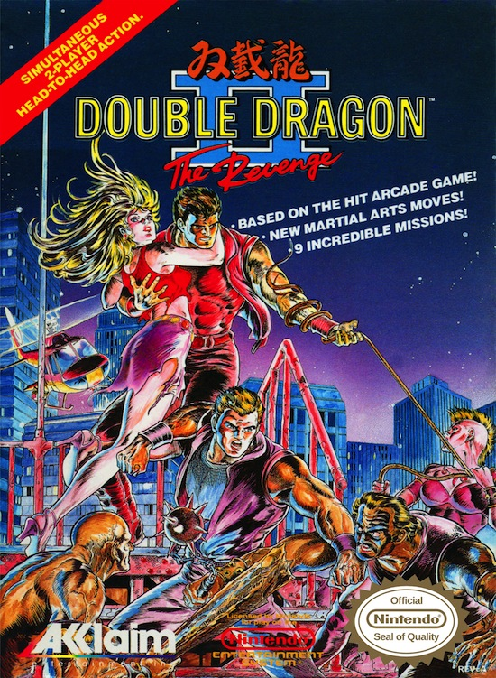 At the time my bro and I were obsessed with Double Dragon II