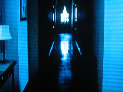 No way I was heading down that hallway!