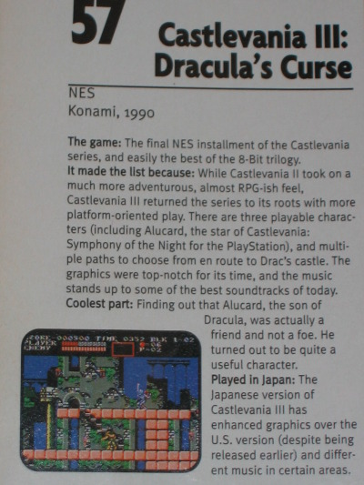 #57 on EGM's Top 100 Games List (Issue #100, November 1997)