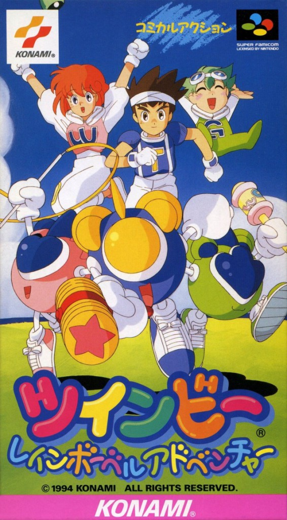 It's the Pop'n Twinbee cast... in a platformer?!