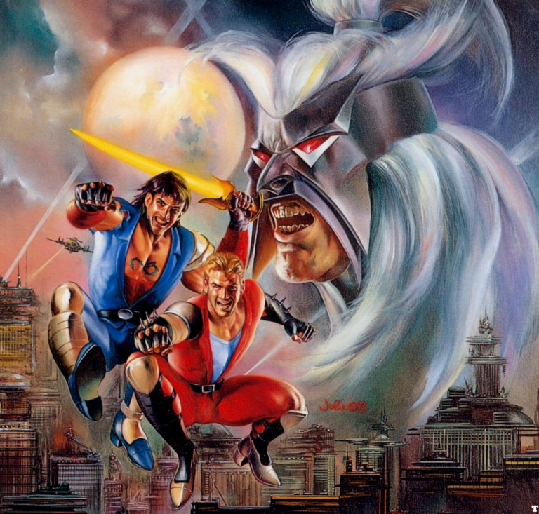 I wanted Double Dragon V but couldn't betray my bro