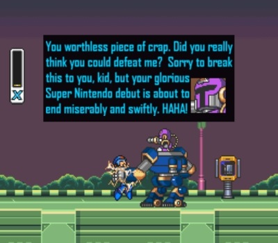 Vile makes his debut into the Mega Man universe