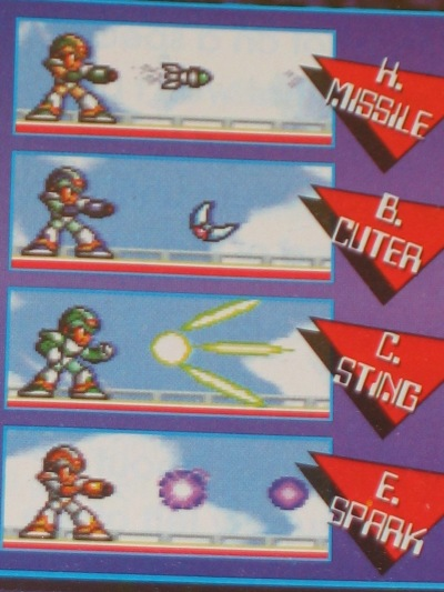 Stealing boss weapons is a classic staple of Mega Man