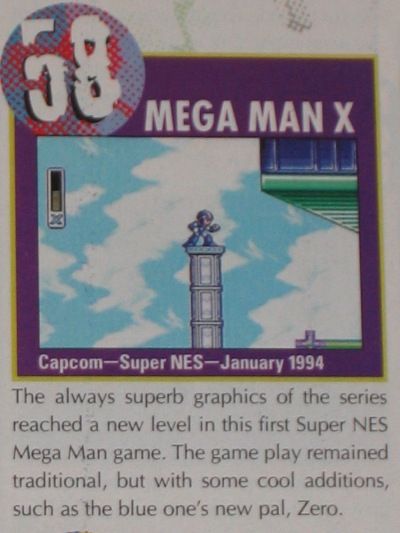 Mega Man X has etched itself into Super Nintendo lore