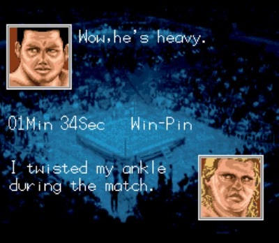 Tries to cop Street Fighter II a bit with this