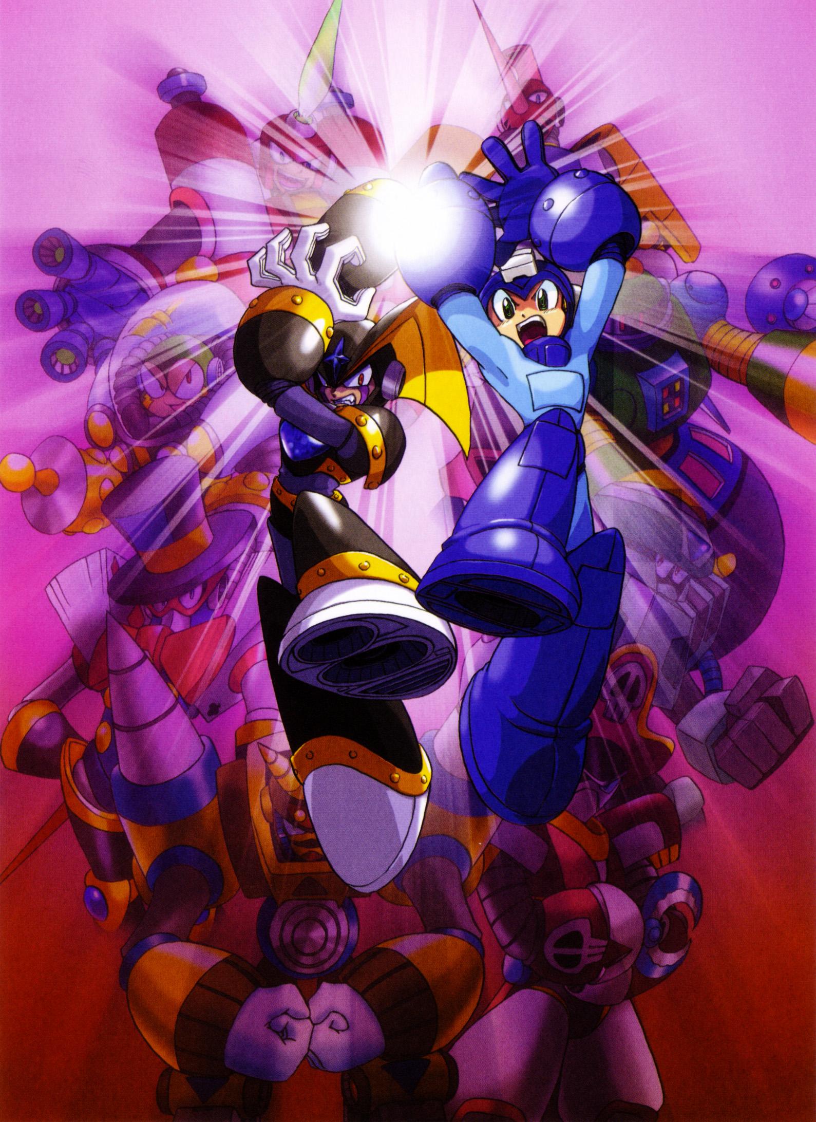 Mega Man & Bass, er, Rockman & Forte, rocks
