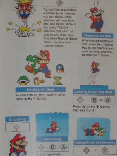 Mario can do it all, the fat chap