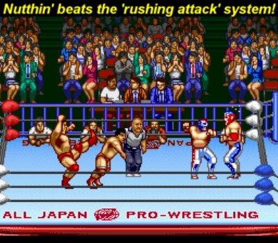 Fire Pro ain't got nothing on this!