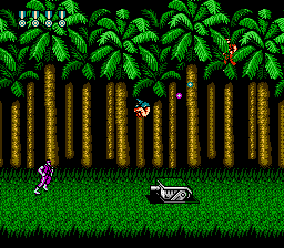 Shades of Contra's jungle