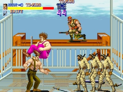 Rolento did show up in Final Fight 2, though