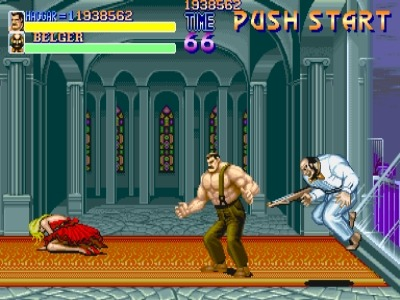 Belger returned as a zombie in Final Fight Revenge