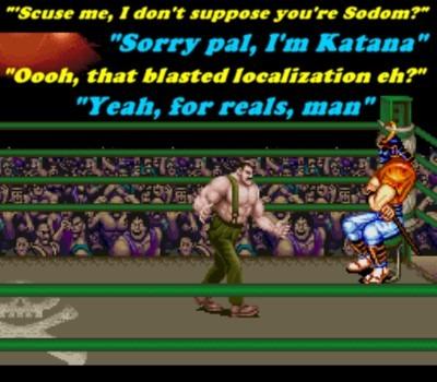 Sodom, er, Katana is a very lethal and agile boss