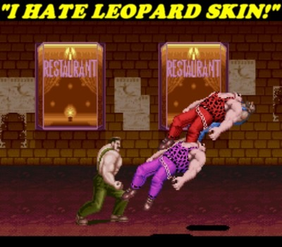 Haggar, you don't like very many things do you?