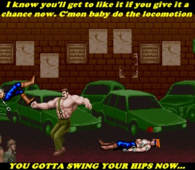 There you go Haggar! Now you got the rhythm down!