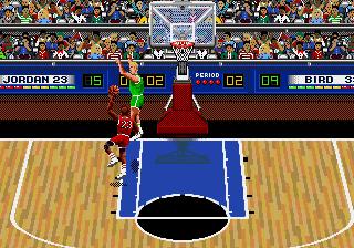 Jordan vs. Bird! (Sega Genesis)