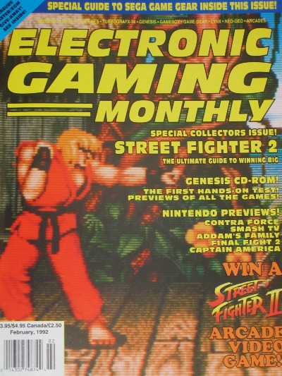 Everywhere you looked, Street Fighter II dominated