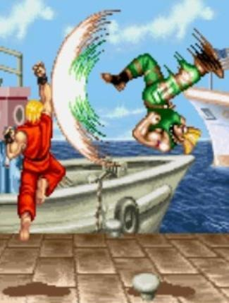 Keep on keeping on, Street Fighter