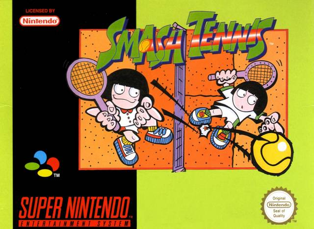 BTW this came out in Europe as Smash Tennis