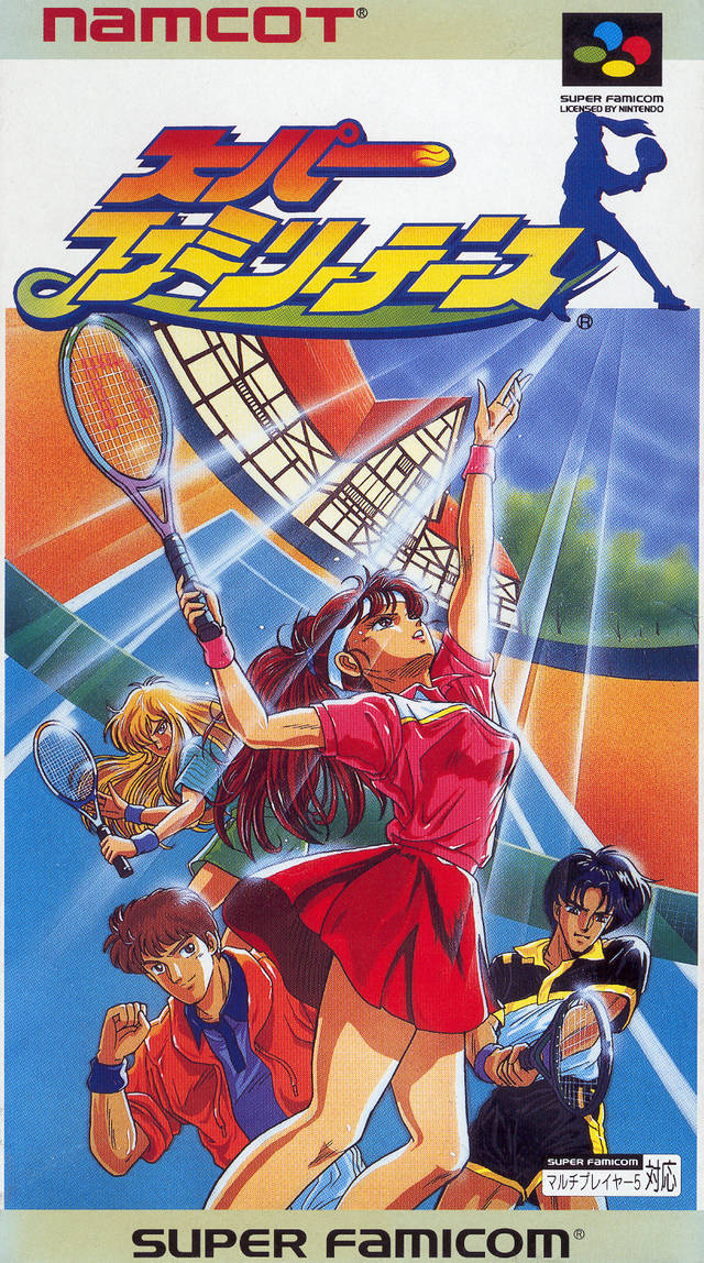 The best damn tennis title on the SNES. Yeah I said it