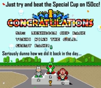 Nowadays 150cc Special Cup laughs at me *sigh*