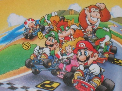 Super Mario Kart made my bro and me the hit of the town