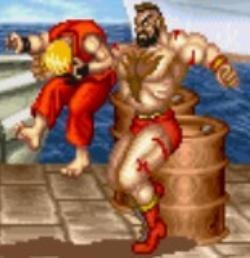 Zangief learned a thing or two from Haggar!
