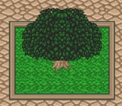 Secret of Mana's tree has nothing on this